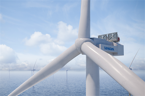 Vestas in line for first 15MW offshore wind turbine order