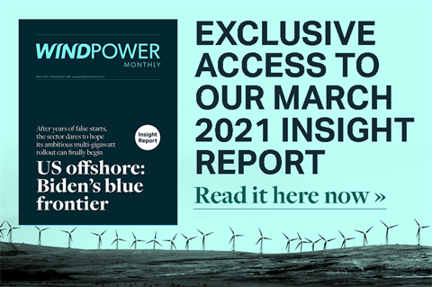 March 2021 Windpower Monthly Insight Report