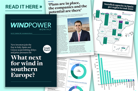 Read the May 2021 Windpower Monthly Insight Report online now