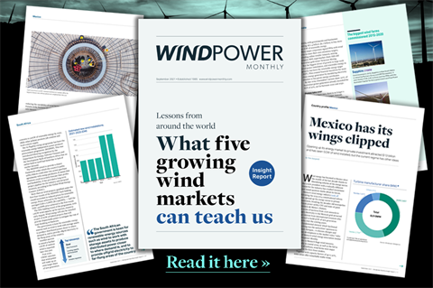 September 2021 Windpower Monthly Insight Report