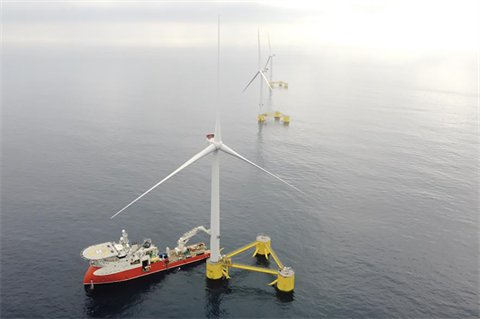 Falck and BlueFloat plan floating offshore wind in Italy