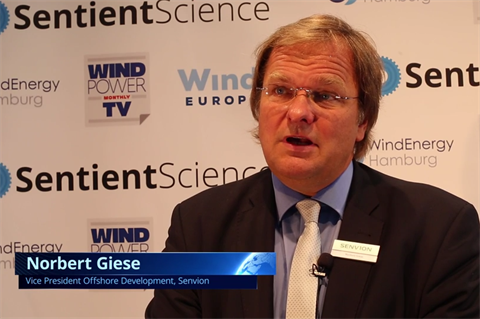 Hamburg 2016: Senvion offshore chief Norbert Giese