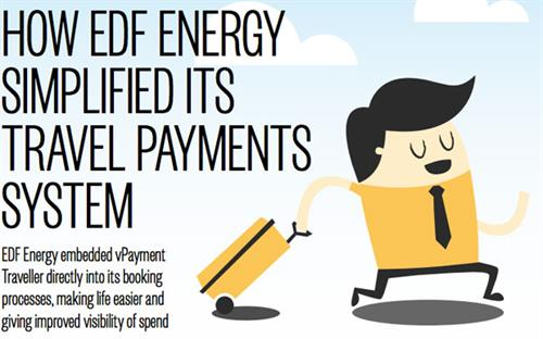 How EDF simplified its travel payments system...