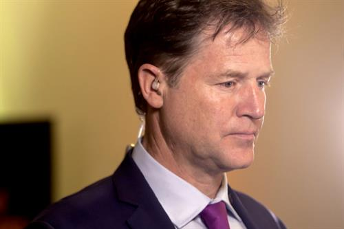 Sir Nick Clegg: 'Business leaders must speak up over Brexit'