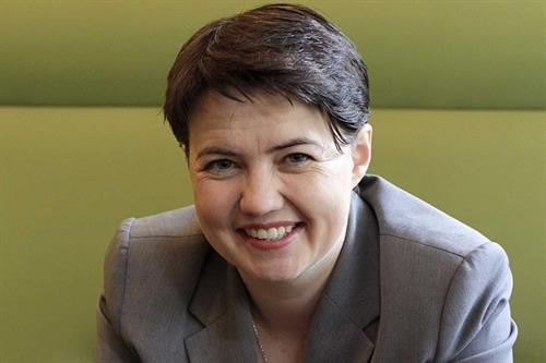 Ruth Davidson: 'I went into politics out of frustration and arrogance'
