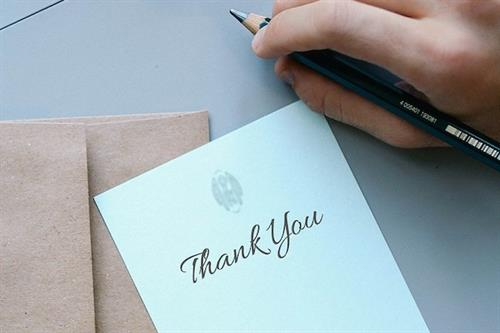 How a quick 'thank you' improves company culture