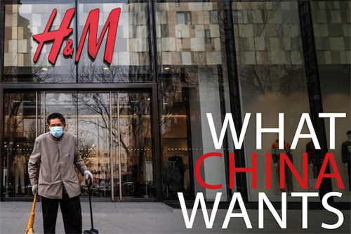 What China wants