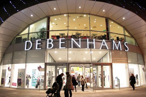 Debenhams is down but not out