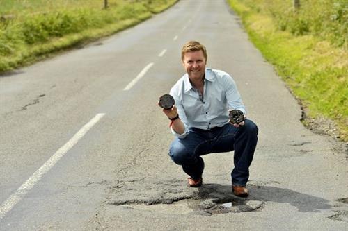 Meet the entrepreneur turning plastic bottles into roads