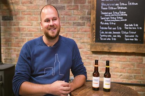 5 minutes with Rob Wilson, the boss turning bread into beer