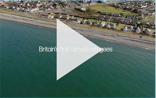 WATCH: Britain's first climate refugees