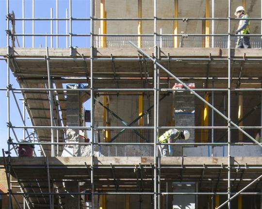 Financial fears hit construction
