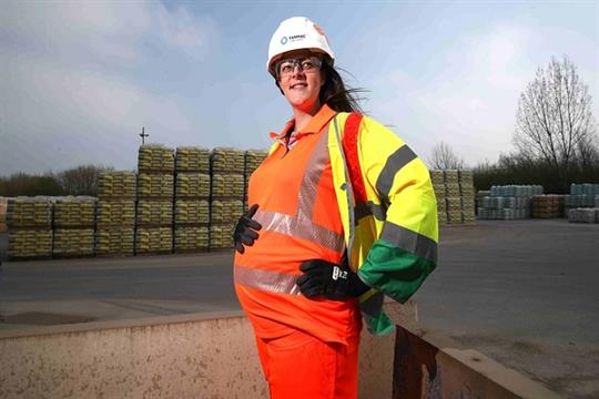 Expectant mums get better protection at Tarmac