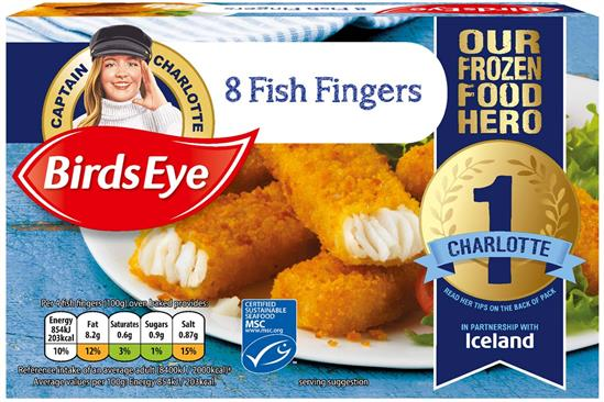 Birds Eye unveils competition winner who will take place of captain on packaging
