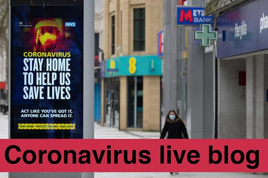 Coronavirus live blog: 28 March-6 April