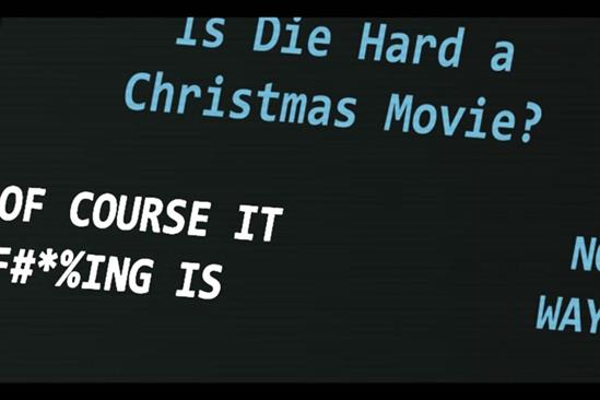 Sky Cinema hires Cassetteboy to prove Die Hard is a Christmas film