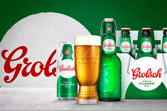 Grolsch: brand returns to UK market with integrated campaign