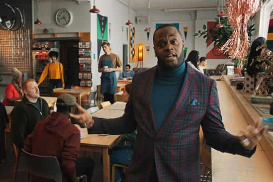GoDaddy: ad narrated by comedian Javone Prince