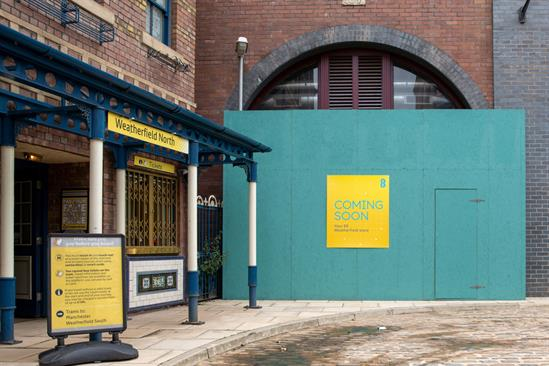 EE: Coronation Street storefront will be unveiled later in the year