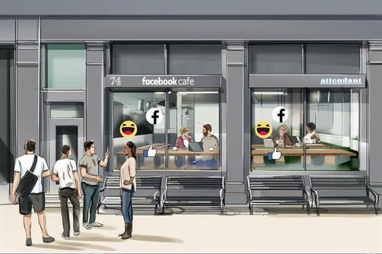 Facebook opens privacy cafe pop-ups