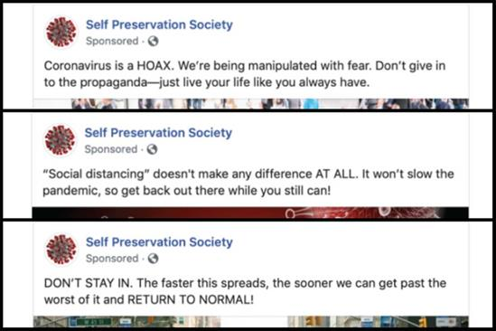 Coronavirus misinformation slipping through Facebook's ad review system