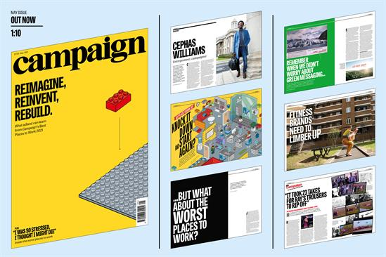 Campaign's May issue is out now