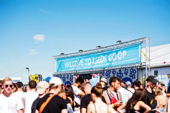 Live Nation and Co-op renew festival partnership