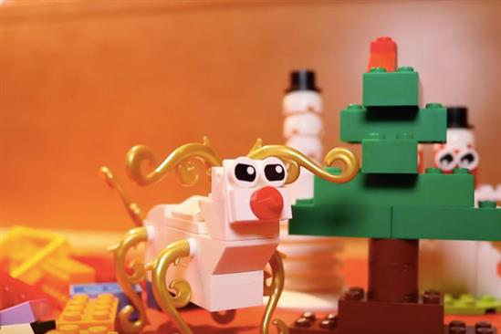 Lego's festive mission to encourage creativity in children