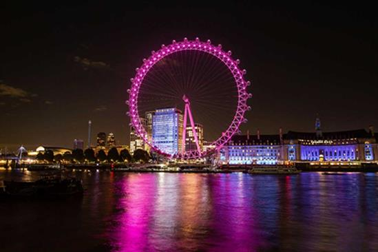 London Eye: deal with Lastminute.com will see attraction lit in corporate colours