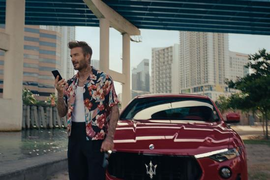 David Beckham finds escape in global Maserati campaign by Droga5
