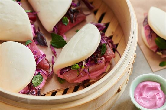 Hellmann's cooks up colourful baos to celebrate Veganuary