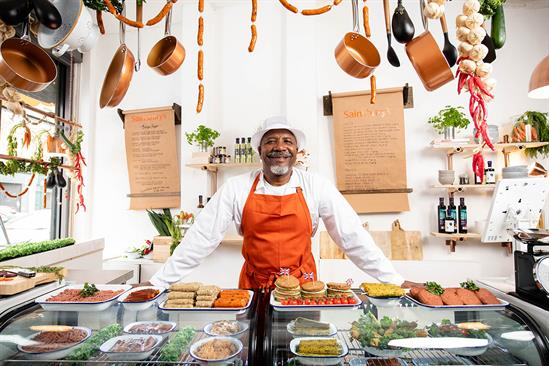 Sainsbury's meat-free butchers: 'This is an event for everyone'
