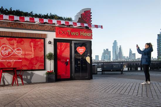 Watch: Virgin Media on how its latest activation celebrates building connections that matter