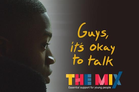 Dentsu Aegis tackles young men's mental-health issues for The Mix