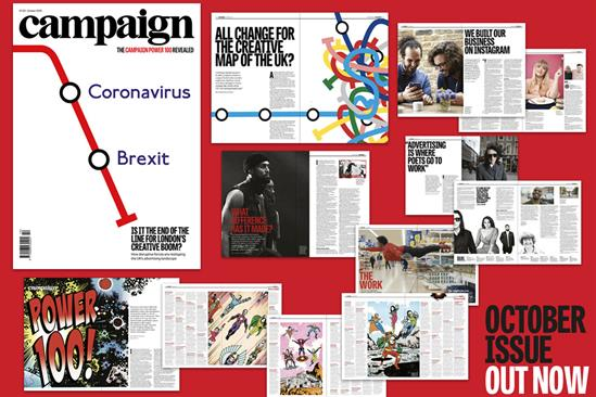 Campaign's October issue is out now
