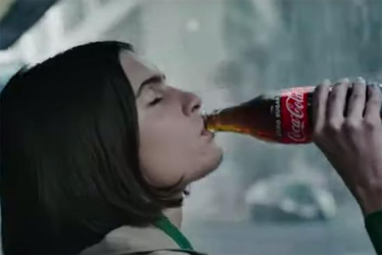 "Taste the feeling: Wieden & Kennedy London created the brand's ""The magic taste of Coke"" ad"