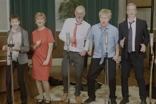 UK political leaders sing Do They Know It's Christmas? in election deepfake