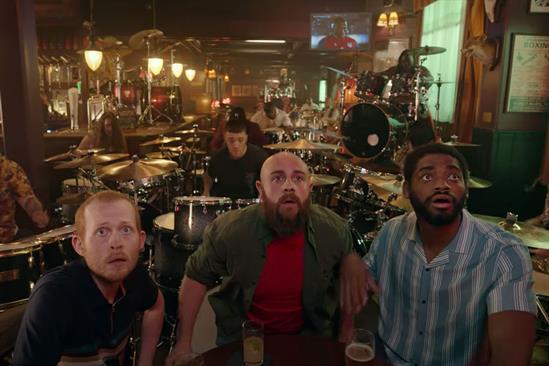 Pick of the Week: Ladbrokes' drummers capture the excitement around Euro 2020