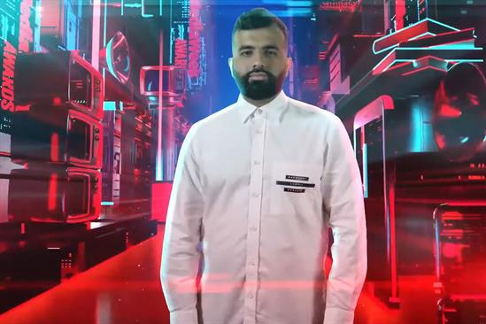 Watch: Hussain Manawer performs 'A Call to Art' at Media Week Awards