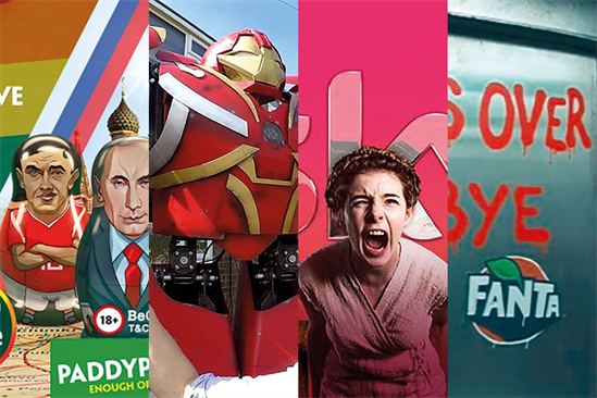4 ways to be creative: Paddy Power, Ebay, Sky and Coca-Cola