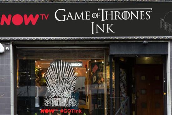 Now TV opens Game of Thrones-inspired tattoo studio