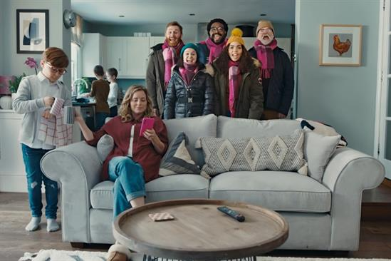 Bellwether: optimistic marketers will be looking forward to Christmas already, just like the stars of this Very.co.uk ad