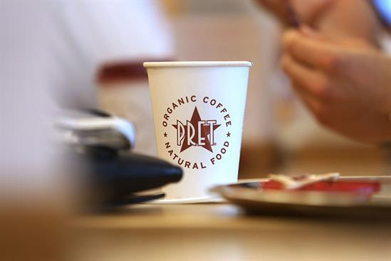 Pret a Manger awards media to Goodstuff as part of turnaround plan