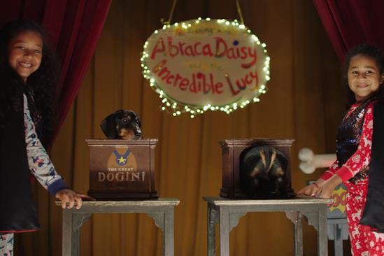 """Argos """"An evening with AbracaDaisy and The Incredible Lucy"""" by The & Partnership"""