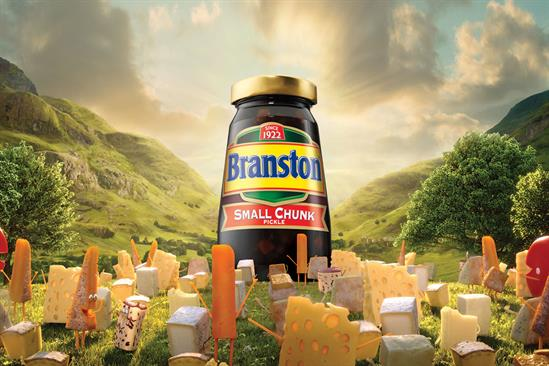 """Branston Pickle """"Please the cheese"""" by Mcgarrybowen"""