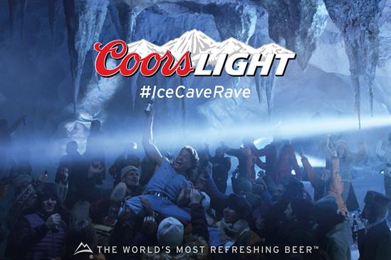 """Coors Light """"quest for cold"""" by VCCP"""