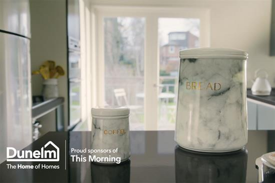 """Dunelm """"This Morning idents"""" by MullenLowe"""