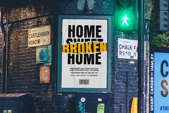 """End Youth Homelessness """"Home sweet home"""" by Truant London and Jack"""