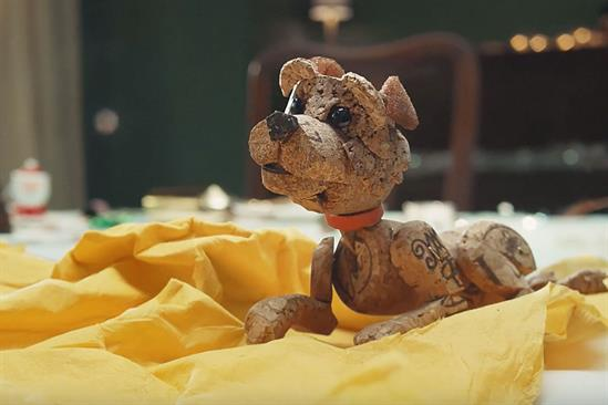 "Dogs Trust ""A dog is for life, not just for Christmas"" by And Rising"