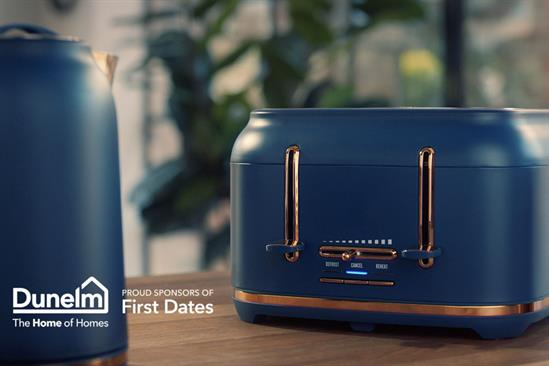 """Dunelm """"First Dates idents"""" by MullenLowe"""